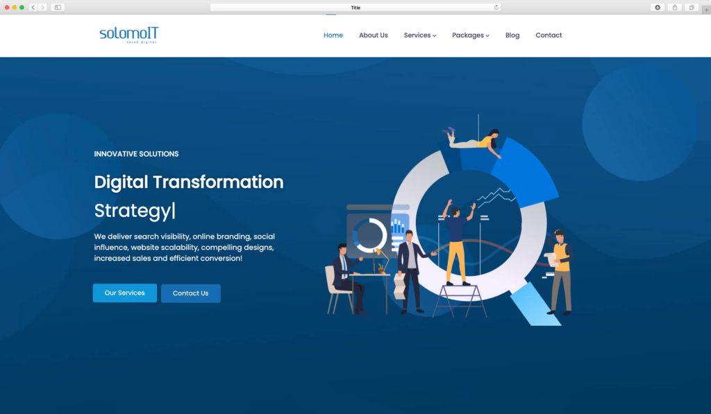solomoit website screen